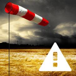 Ostrzeżenie IMGW przed silnym wiatrem