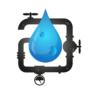 Prace konserwatorskie na ujęciu wody w miejscowości Brześce