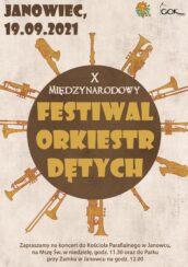 X Międzynarodowy Festiwal Orkiestr Dętych